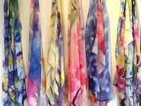Scarves designed exclusively for VIDA